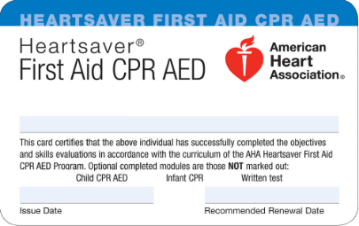 CPR-card
