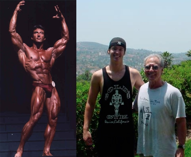 Joel with Frank Zane